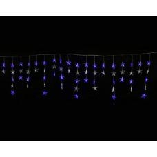 Бахрома световая [5.5 x0.5 м] Uniel ULD-E5505-196 ULD-E5505-196/DTK WHITE-BLUE IP20 STARS-1